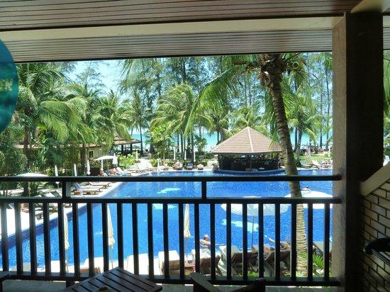 BEST WESTERN Premier Bangtao Beach Resort & Spa : Vue du balcon de la chambre