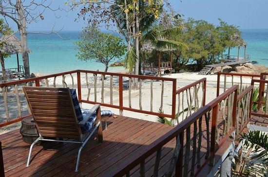Koh Munnork Private Island Resort by Epikurean Lifestyle: View from the corner beachfront villa
