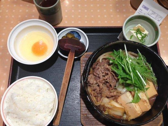 Citadines Karasuma-Gojo Kyoto: Beef Sukiyaki Set