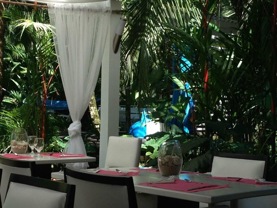 Le Cameleon Boutique Hotel: View from the Restaurant