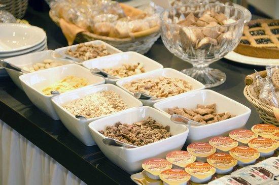 Hotel Pergola: L'angolo dei cereali