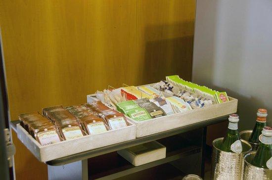 Hotel Pergola: L'angolo té e tisane