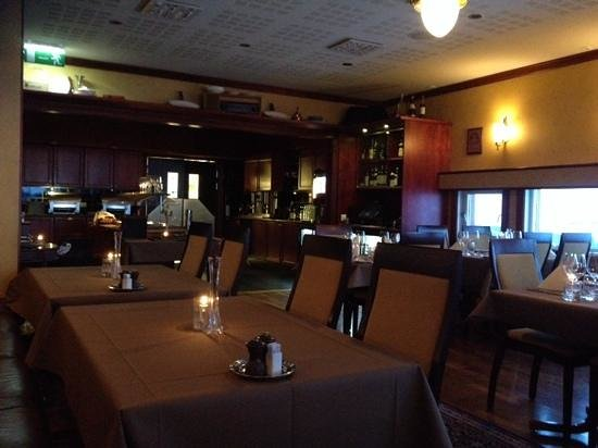 Funktionaermessen Restaurant: Dining room, March 2014