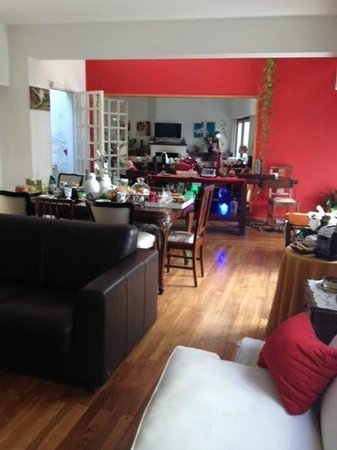 Chavi's Bed and Breakfast: The openSpace - LivingRoom
