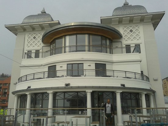 Penarth Pier Pavilion: View from the pier