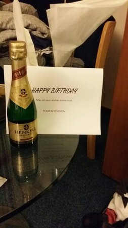 Hampshire Hotel - Beethoven Amsterdam : Nice touch from Beethoven Hampshire Hotel.