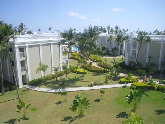 Hotel Riu Palace Bavaro: View from room 2