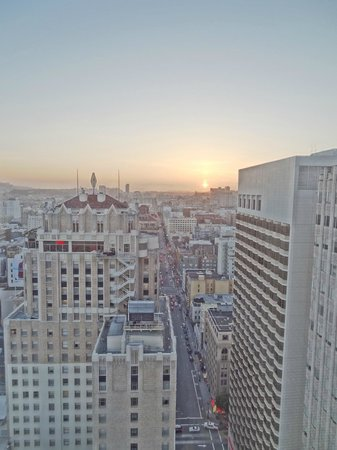Grand Hyatt San Francisco : Blick aus unserem City View Zimmer (29. Stock)