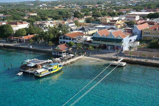 Bonaire Vista Tours: Blick von Bord der Aida