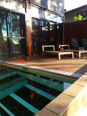 Spicers Sangoma Retreat: Chief Suite pool deck