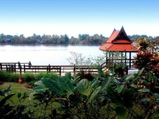 Ayutthaya Garden River Home: Our View from the Top