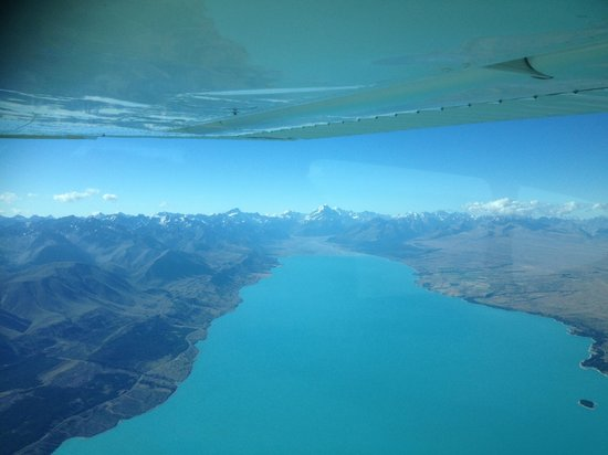 Air Milford : Mt Cook & Lake Pukaki