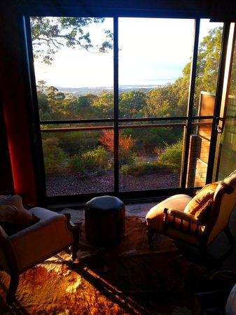 Spicers Sangoma Retreat: Sun set from the Chief Suite