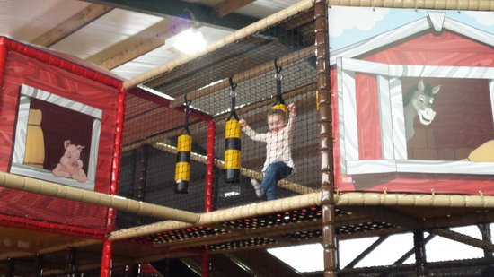 Playdale Farm Park : The New indoor play Area, Wow factor for kiddiewinks
