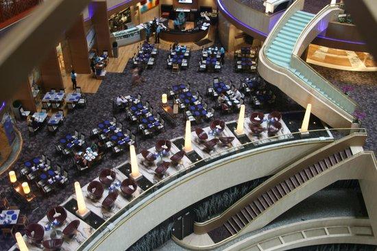 Marina Mandarin Singapore : una sala per la colazione