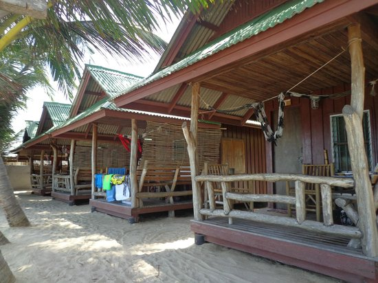 Beer's House Beach Bungalows: I bungalow in prima fila
