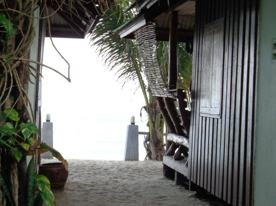Beer's House Beach Bungalows : Vista dal bungalow n.5