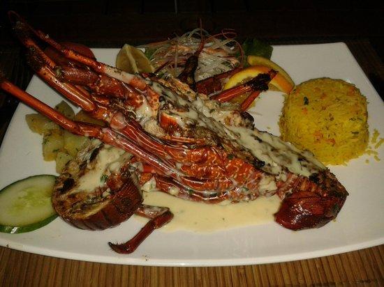 La Rougaille Creole : Langouste