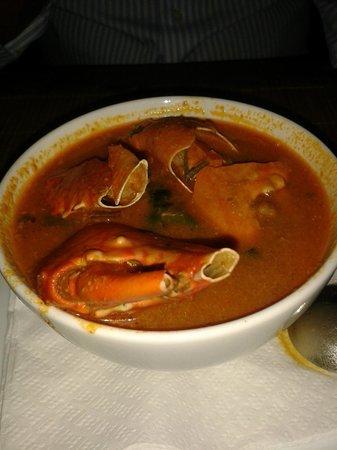La Rougaille Creole : Soupe de crabe