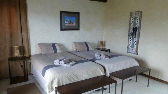 Agama River Camp: Lodge très sympa à la sortie de Sesriem