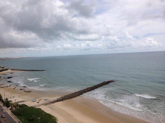 Intercity Natal: vista do 14º andar do hotel