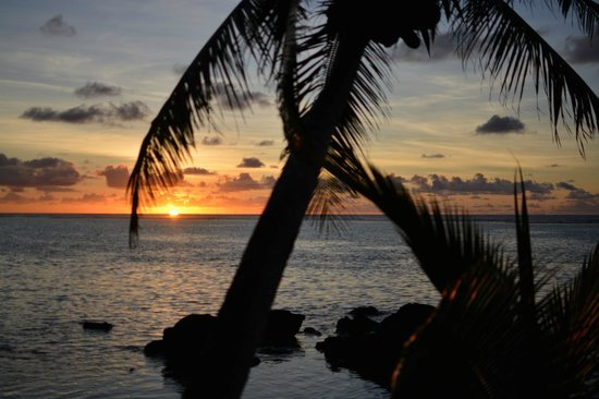 Te Manava Luxury Villas & Spa : First morning sunrise