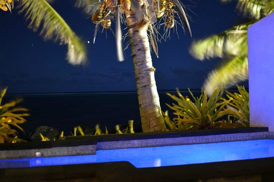 Te Manava Luxury Villas & Spa : Night sky from out terrace