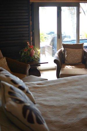 Te Manava Luxury Villas & Spa: bedroom with view