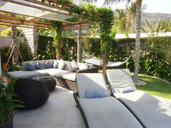Mia Resort Nha Trang : Your own private outdoor entertaining area