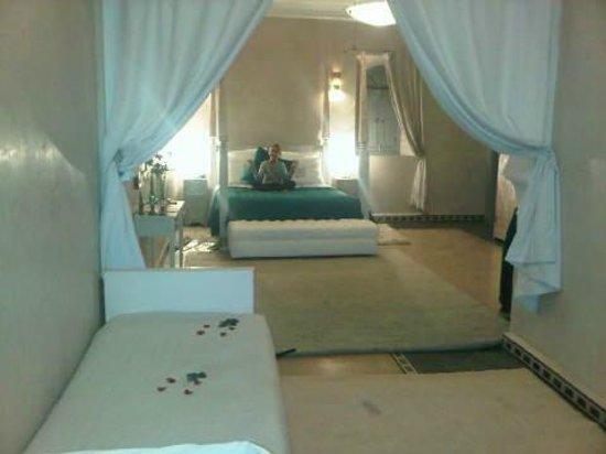 Ksar Anika : chambre