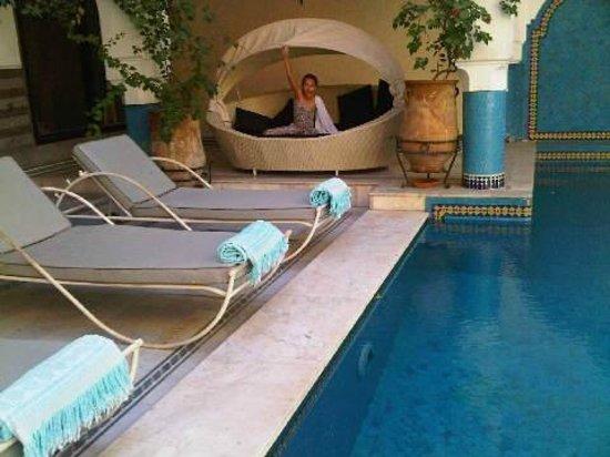 Ksar Anika : piscine