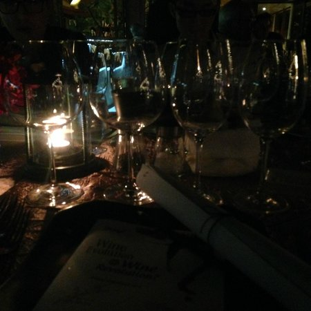 The Boathouse Restaurant: Getting ready for the wines
