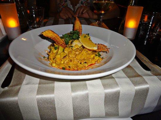 Castello Beach Hotel: Das Abendessen war immer lecker und auch optisch sehr schön angerichtet