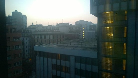 Hilton Milan : view from room