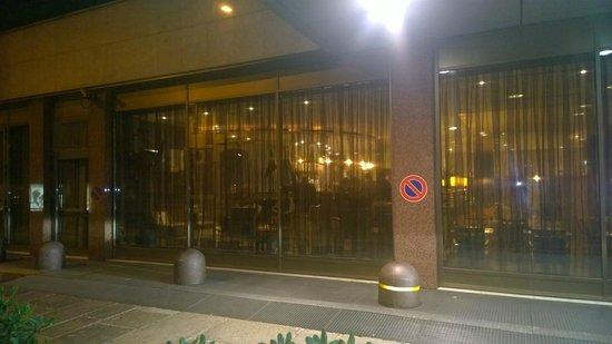 Hilton Milan: External front of hotel