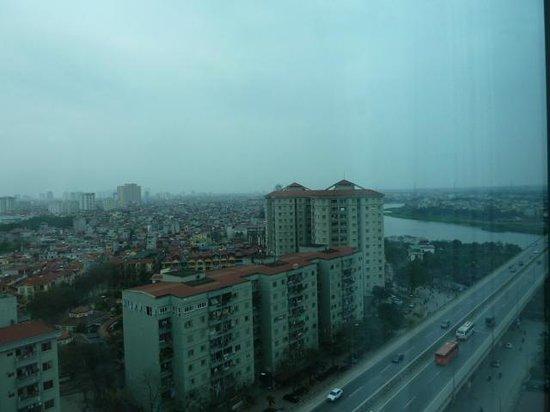 Muong Thanh Hanoi Hotel: 15階からの眺め