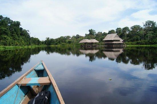 Reserva Natural Marasha : Canoeing