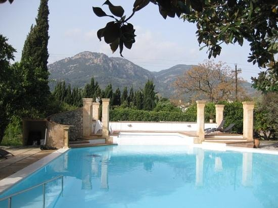 Finca Ca's Sant: Am Pool