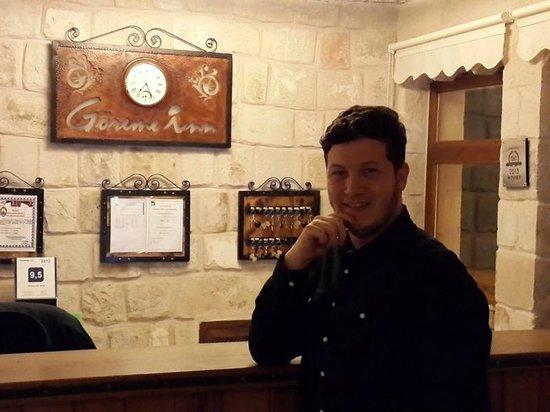 Goreme Inn Hotel: My humorous friend Mohammet