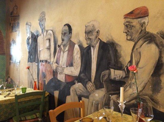 Osteria Pasta e Vino: Murs Peints