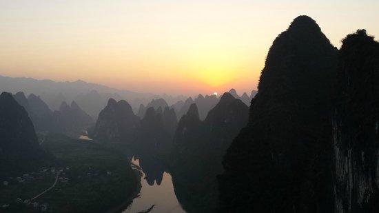 Yangshuo Tea Cozy: sun rise