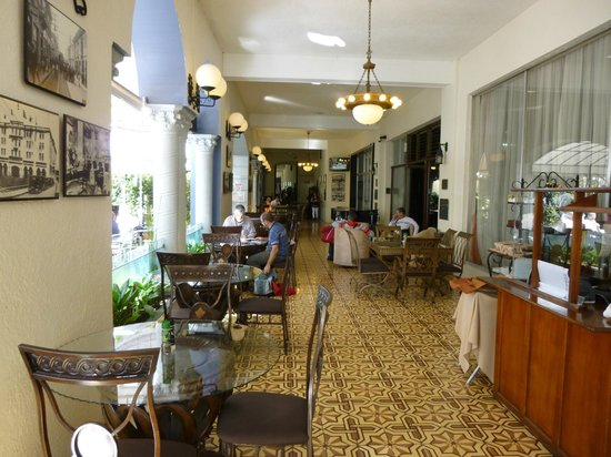 Gran Hotel Costa Rica: Drinks Terrace