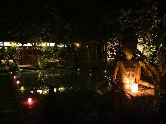Villa Kampung Kecil : бассейн