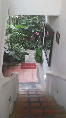 Shewe Wana Boutique Resort and Spa: Stairway to upper floor