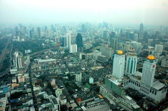 Baiyoke Sky Hotel: Вид из окна