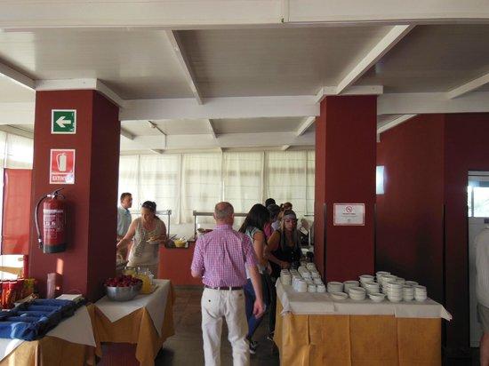 Adriano Hotel Torremolinos: breakfast area