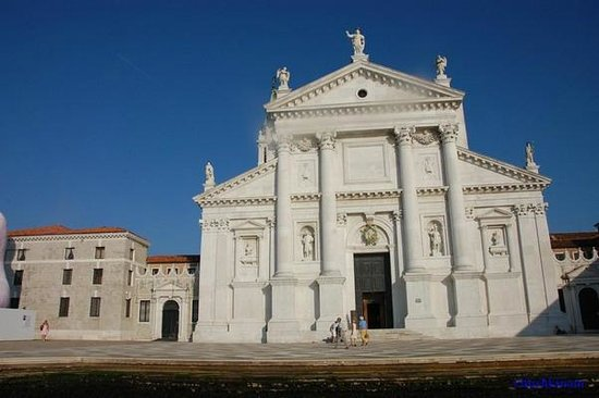 San Giorgio Maggiore : Белоснежный фасад собора