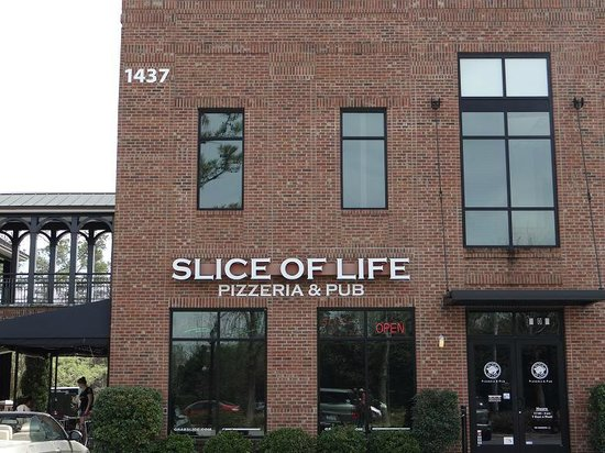 Slice of Life: outside view from parking lot