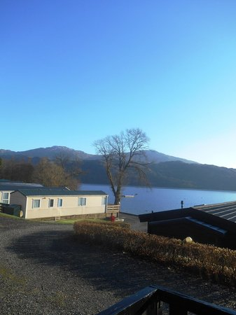 Loch Lomond Holiday Park: View