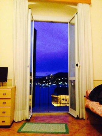 Italia e Lido Hotel: vista dalla camera